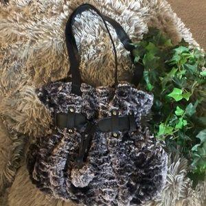 Claire's Faux Fur bag